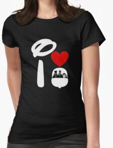 I Heart Haunted Mansion (Inverted) Womens Fitted T-Shirt