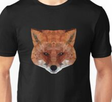 fox. polygonal graphics Unisex T-Shirt