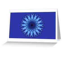 Bachelor Buttons Blue Flowers Greeting Card