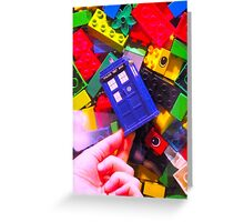Lego My TARDIS Greeting Card