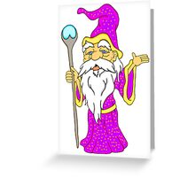Wizard Gnome Greeting Card