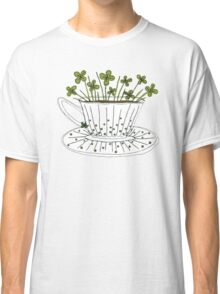 Lucky Cup of Clovers Classic T-Shirt
