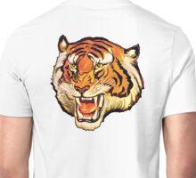 TIGER, Head, Big Cat, Growl, Snarl, Attack, Vintage Poster,  Unisex T-Shirt