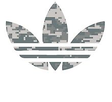 Adidas Trefoil Original Digital Camo by PommyKaine