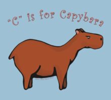 C is for Capybara Kids Clothes
