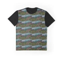 Blue lichen on a stick Graphic T-Shirt