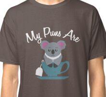 My Puns are Koala Tea - Koala Tea Cup - Funny Word Play Classic T-Shirt