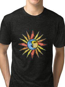 moon and sun Tri-blend T-Shirt