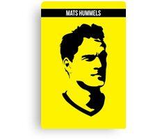 Mats Hummels Borussia Dortmund Canvas Print