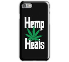 Hemp Heals iPhone Case/Skin