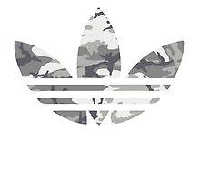Adidas Trefoil Original Urban Camo by PommyKaine