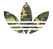 Adidas Trefoil Original Woodland Camo by PommyKaine