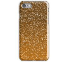 Orange Glitter Ombre iPhone Case/Skin