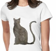 Mr. Mistoffelees - The Cleverest of Them All Womens Fitted T-Shirt