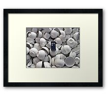 Bowl of TARDIS Framed Print