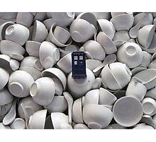 Bowl of TARDIS Photographic Print