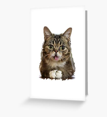 FunnyCat#2 Greeting Card
