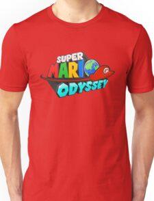 Super Mario Odyssey Logo Unisex T-Shirt