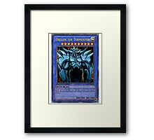 the tormentor Framed Print