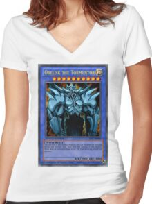 the tormentor Women's Fitted V-Neck T-Shirt