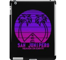 sun junipero iPad Case/Skin