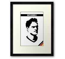 Mats Hummels DFB German National Team Framed Print