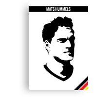 Mats Hummels DFB German National Team Canvas Print
