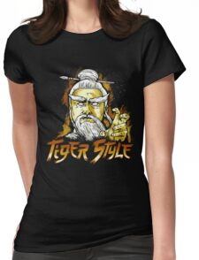 Tiger Style Womens Fitted T-Shirt