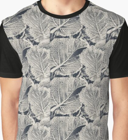 frozen leaves in an English lane Graphic T-Shirt