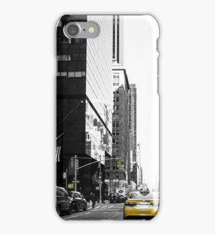 The Streets of New York iPhone Case/Skin