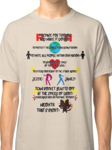 Team Rocket Motto Classic T-Shirt