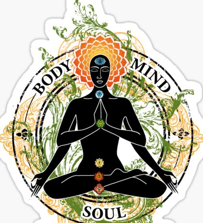 Yoga : Mind Body and Soul KUNDALINI Sticker