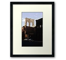 Brooklyn Bridge 1970 Framed Print