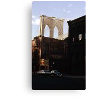 Brooklyn Bridge 1970 Canvas Print