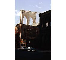 Brooklyn Bridge 1970 Photographic Print