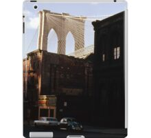 Brooklyn Bridge 1970 iPad Case/Skin