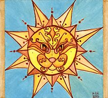 Sun Lion by Amy-Elyse Neer