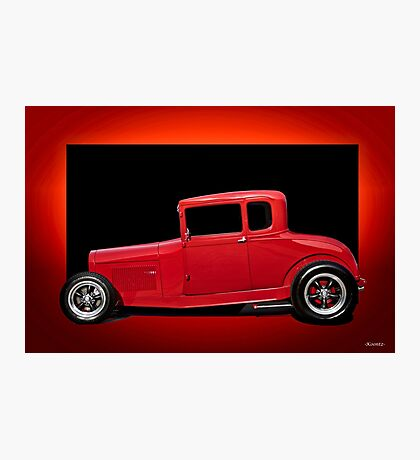 1928 Ford Coupe 'Perfection in Red' III Photographic Print
