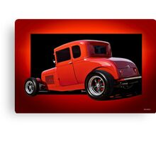 1928 Ford Coupe 'Perfection in Red' II Canvas Print