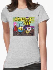 Adventure Trek! Womens Fitted T-Shirt