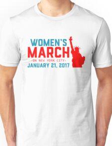 women march 2017 Unisex T-Shirt