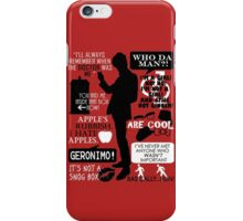 Doctor Who - 11th Doctor Quotes iPhone Case/Skin