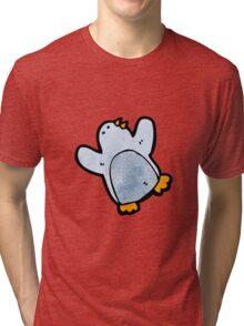 cartoon penguin Tri-blend T-Shirt
