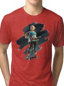Zelda (The Legend of Zelda: Breath of the Wild) Tri-blend T-Shirt