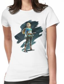 Zelda (The Legend of Zelda: Breath of the Wild) Womens Fitted T-Shirt