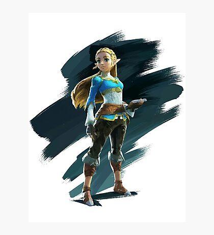 Zelda (The Legend of Zelda: Breath of the Wild) Photographic Print