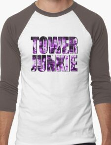 Tower Junkie Men's Baseball ¾ T-Shirt