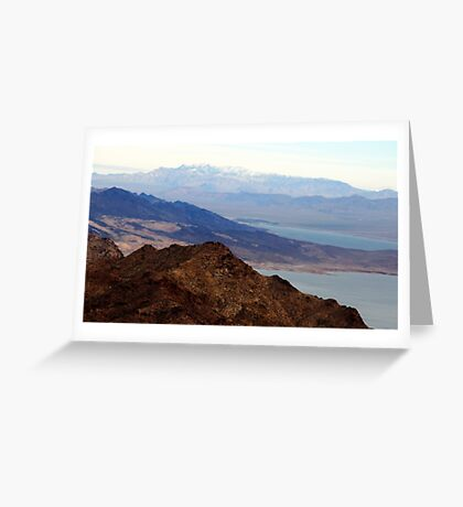Mountains In View Greeting Card