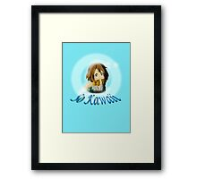 So Kawaii Framed Print