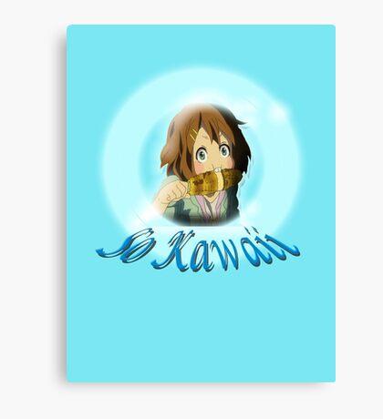 So Kawaii Canvas Print